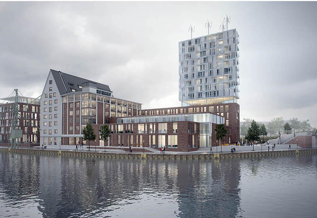 Hafenerweiterung in Münster