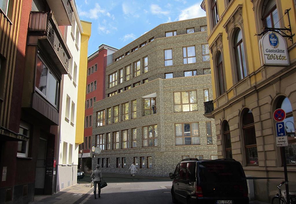 Krankenhaus in Köln-Severinsviertel
