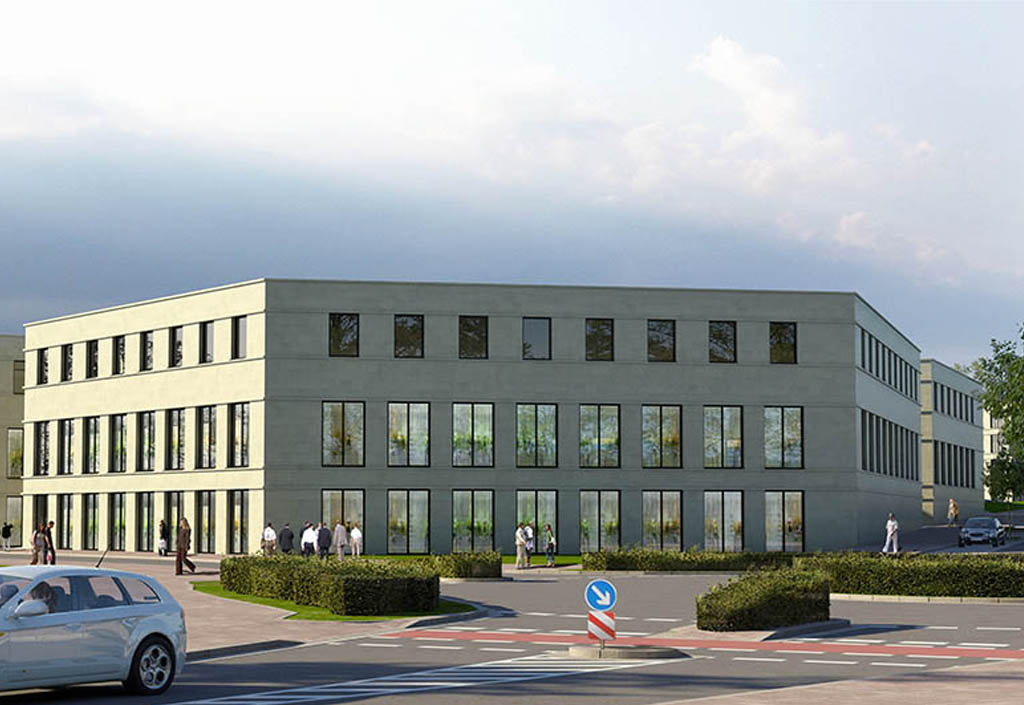 Verwaltungsgebäude in Oer-Erkenschwick